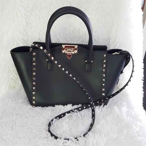 8c96f98d5fb Valentino Bags | 100 Auth Rockstud Tote Bag | Poshmark